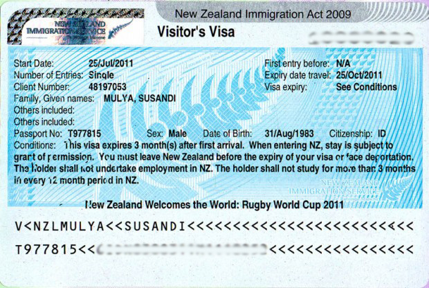 Membuat Visa New Zealand Never Stop Travelling