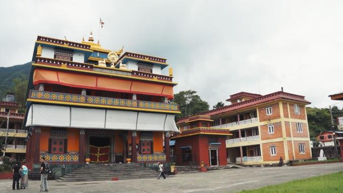 camp pengungsian tibet