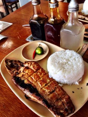 Grilled Bangus Fish at Mang Inasal