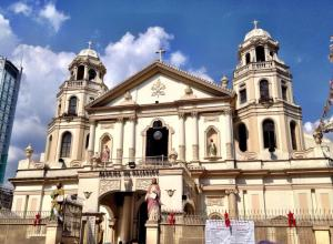 Quiapo Church Manila.