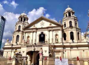 Quiapo Church Manila.