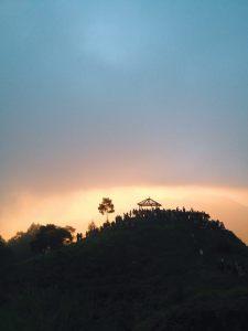 view sikunir sunrise