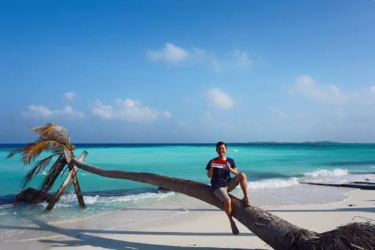 Akhirnya Indonesia Raya bisa berkibar di Maldives