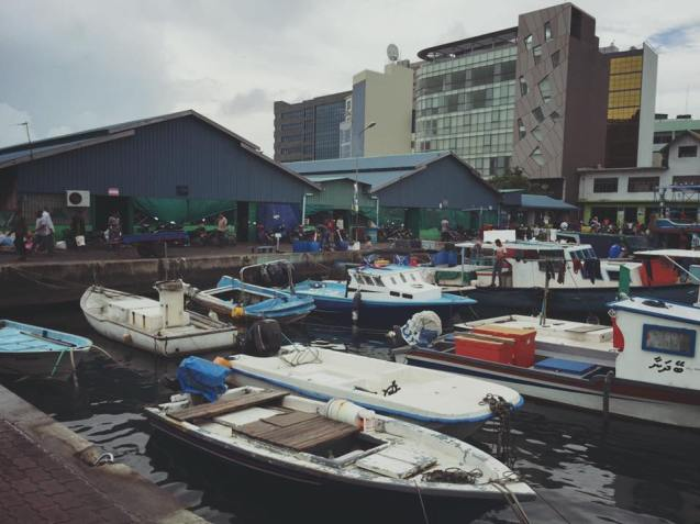 pelabuhan niaga maldives