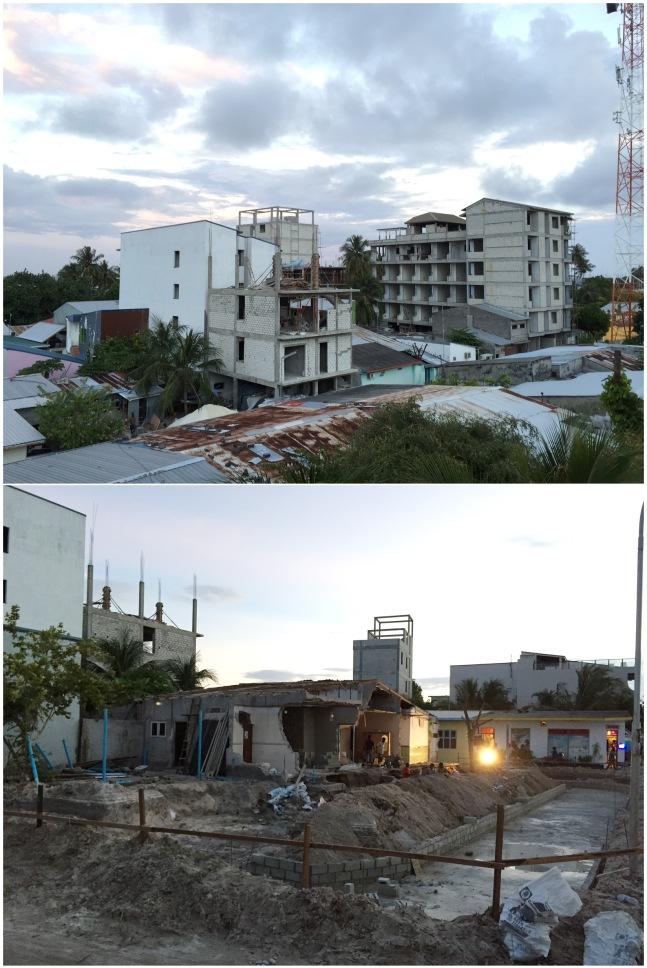 pembangunan maldives