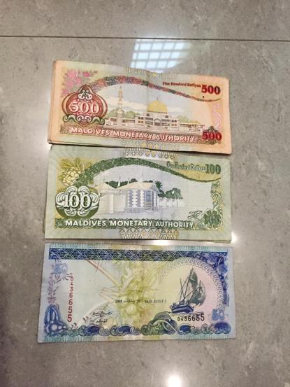 uang maldives